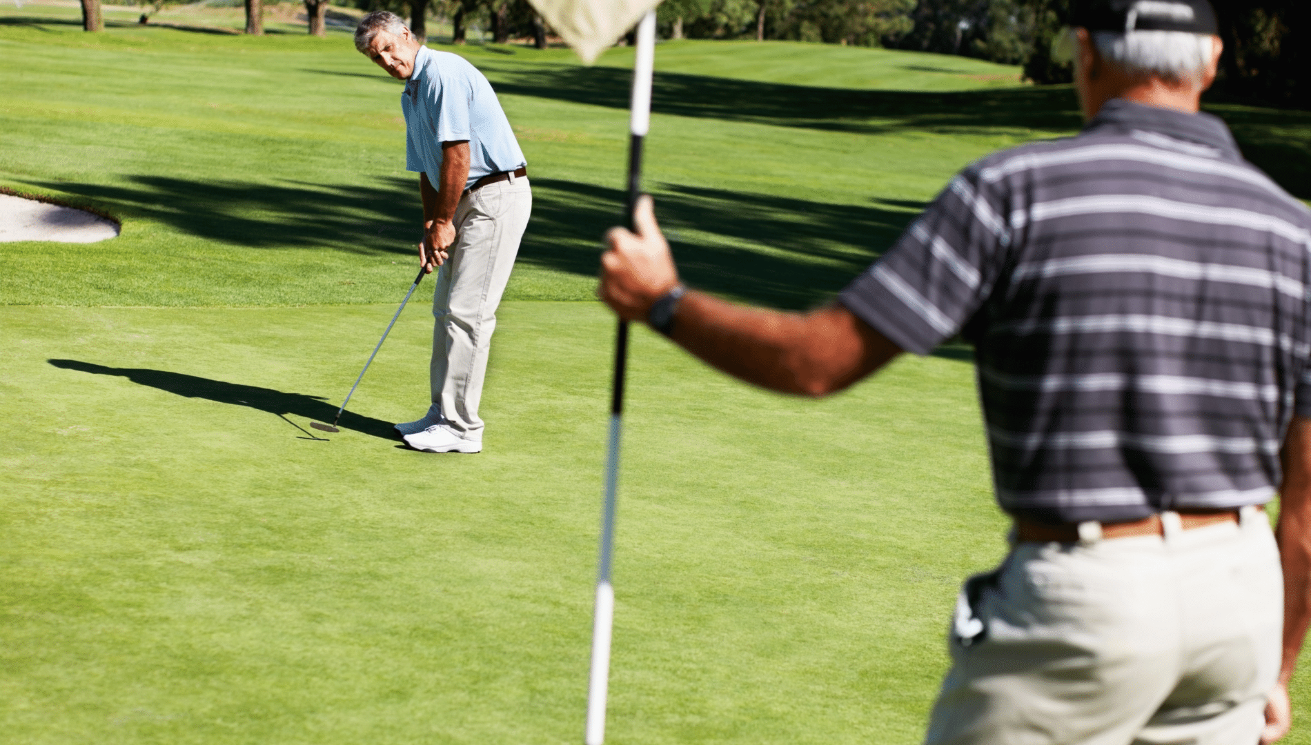 Rules Guy: Can You Refuse A Conceded Putt In Order To Show Your Partner The Break?